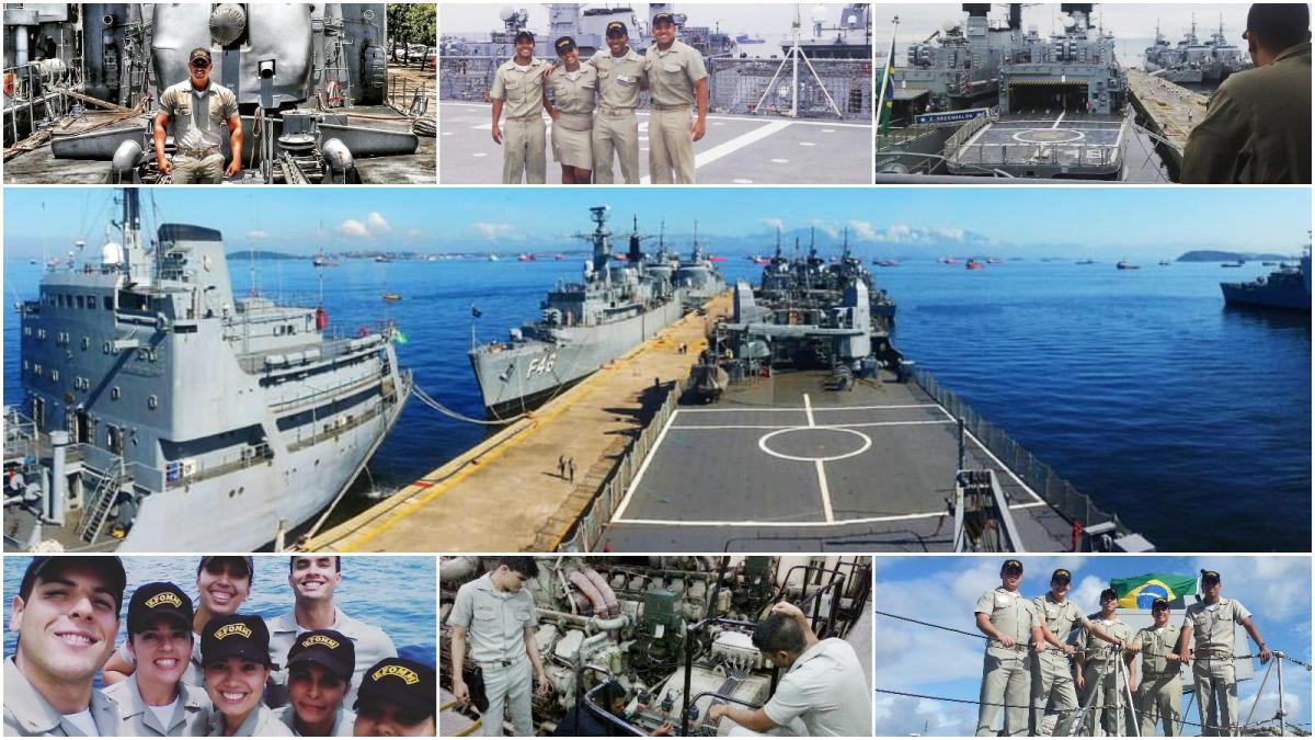 Praticantes-alunos completam Estágio de Instrução em navios da MB