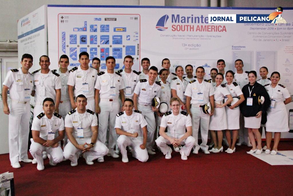 Alunos participam da 13ª Marintec South America