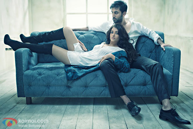 Picture: Ranbir Kapoor and Aishwarya Sizzle Up In The Latest Photoshoot