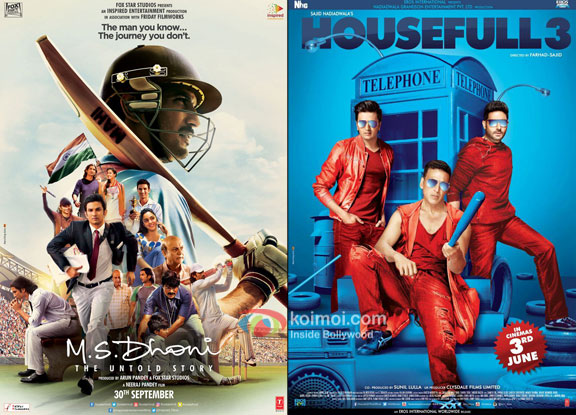 M.S. Dhoni - The Untold Story Beats Housefull 3; Becomes 4th Highest Grosser Of 2016