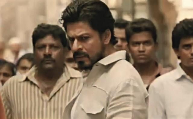 Shah Rukh Khan in stils from movie Raees