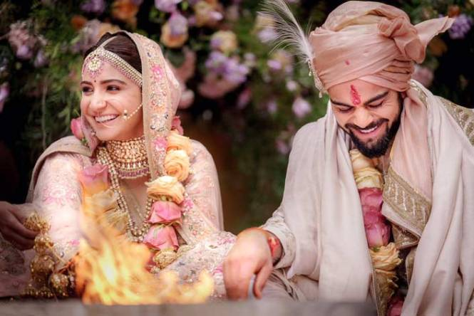 BJP MLA Questions Virat-Anushka's Marriage On Foreign Land