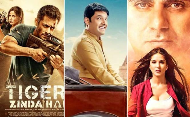Box Office - All Eyes On Tiger Zinda Hai As Firangi & Tera Intezaar Stay Dull