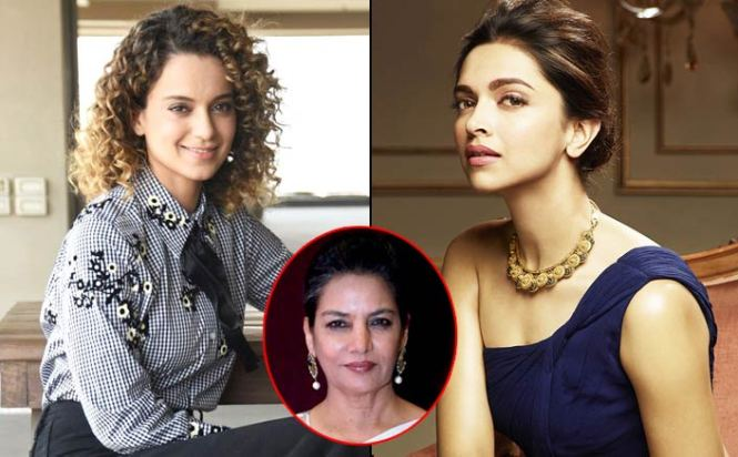 Kangana Ranaut Supports Deepika Padukone, But She Won't Sign Shabana Azmi's Petition