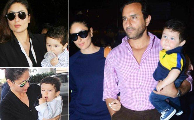 Kareena Kapoor Khan On Taimur's Airport Look: I Don't Dress Him Because Of Paparazzi