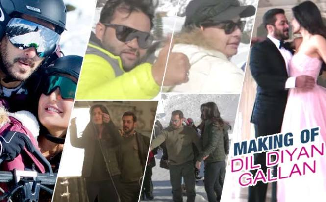 Making Of Dil Diyan Gallan: Witness The Lovely Camaraderie Of Salman Khan And Katrina Kaif In This Video
