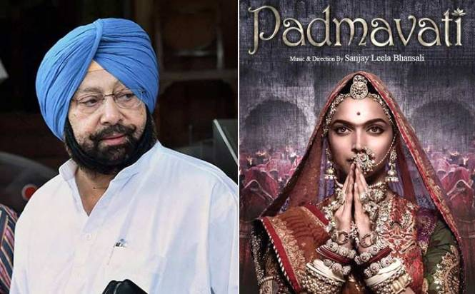 Punjab not to ban screening of 'Padmavati': Amarinder