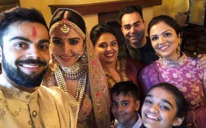 Twitter abuzz with congratulatory messages for Virat-Anushka
