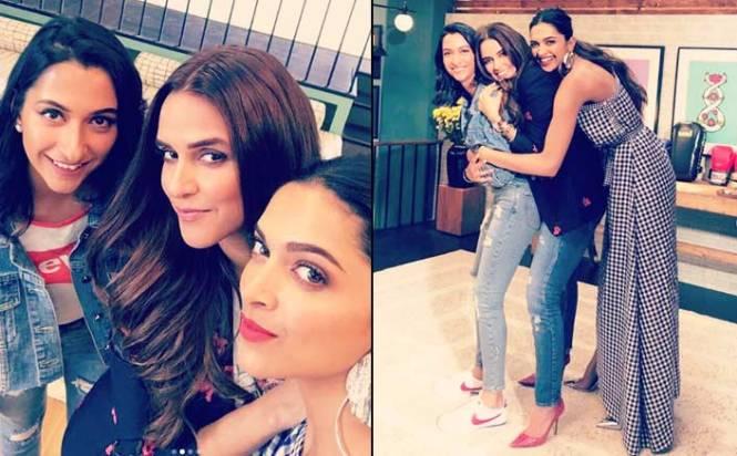 Deepika Padukone and her sister Anisha