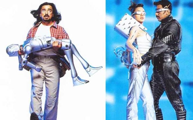 Kamal Haasan and Preity Zinta
