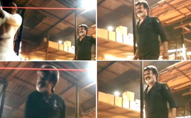 Leaked Video! Rajnikanth's Stunt Scene From Kaala Karikaaran Sends Twitterati Into Frenzy