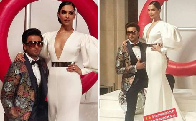 Ranveer singh And Deepika Padukone's Photoshoot At Hello Hall Of Fame Awards 2018 Is Full Of Love & Hotness