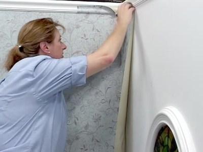 Wallpaper Installation - Inside Corner Hanging » American Blinds Video Site
