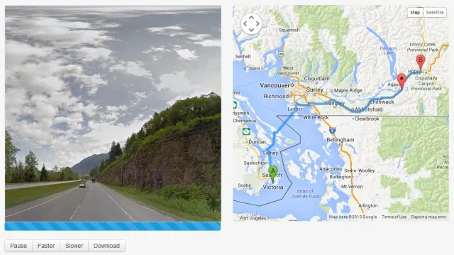 5 Tools To Take An Auto Guided Google Street View Tour Google Maps Streetview Player