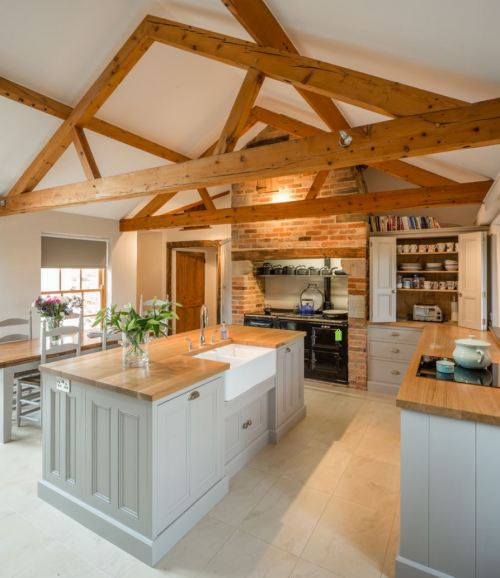 Medium Of Wooden Kitchen Top