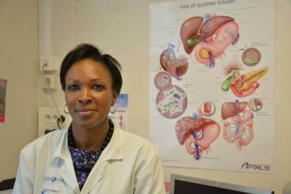 Djélika Koné est infirmière de coordination au Centre de référence des maladies vasculaires du foie.