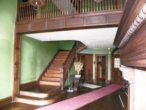 Interior Grand Staircase Shingle Style Charles G Loring House Beverly MA