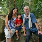 John McDermott and Narisara Murray in Siem Reap