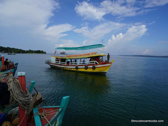 How to get to Koh Rong