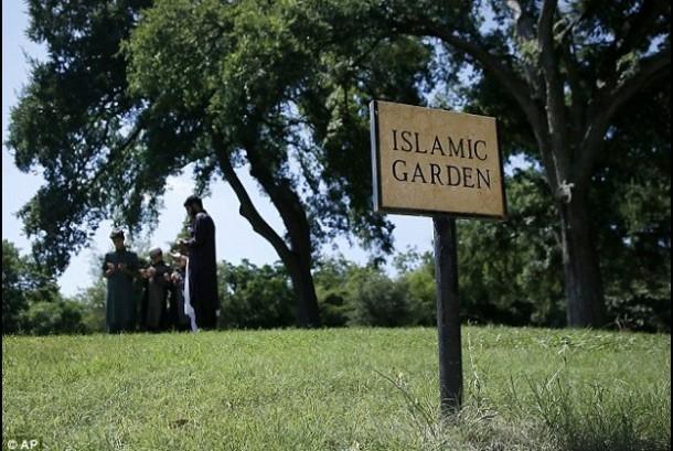 Pemakaman Muslim di Texas