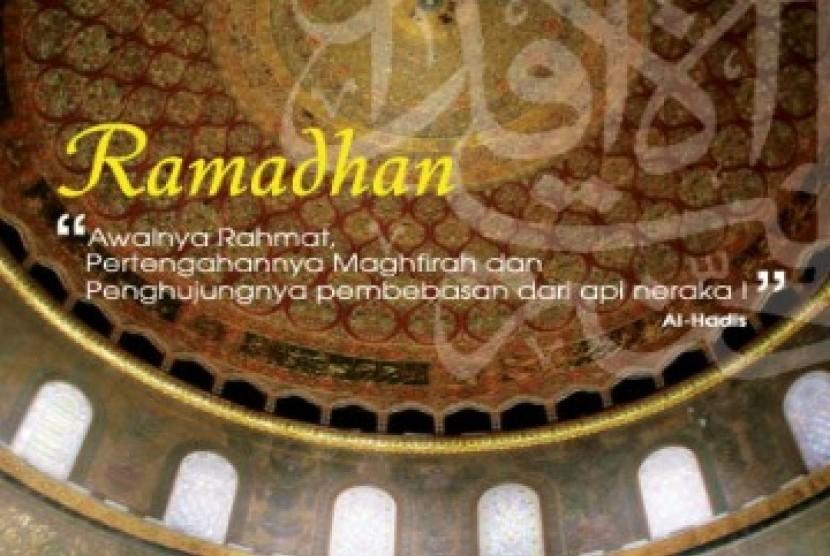Bulan Ramadhan/ilustrasi