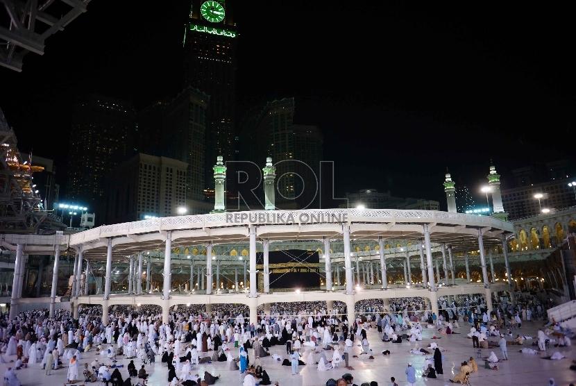 Jamaah Haji Di Mekkah (ilustrasi)