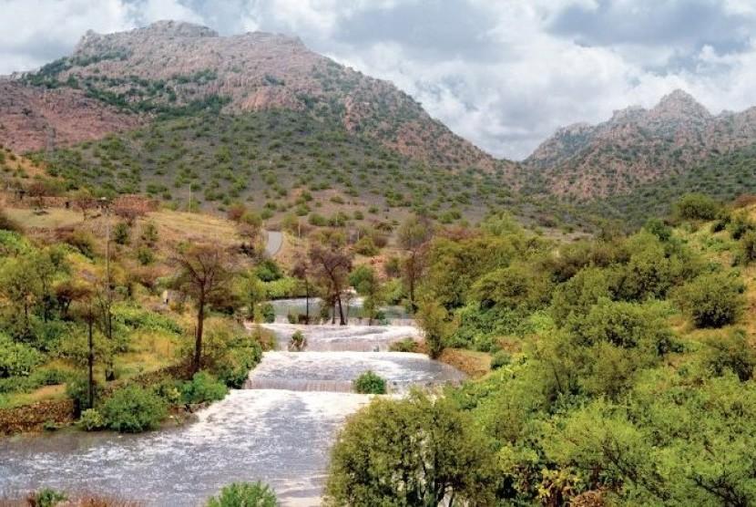 Kawasan Thaif, Arab Saudi.