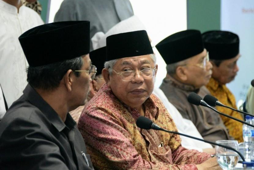 Ketua Umum Majelis Ulama Indonesia (MUI) K.H. Maruf Amin