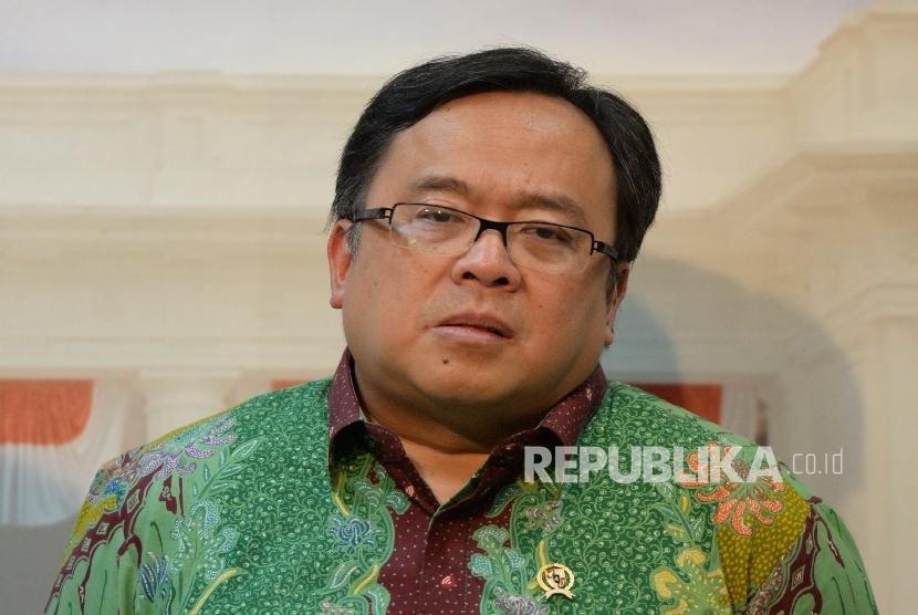 Menteri Keuangan Bambang Brodjonegoro. (Republika/ Wihdan)