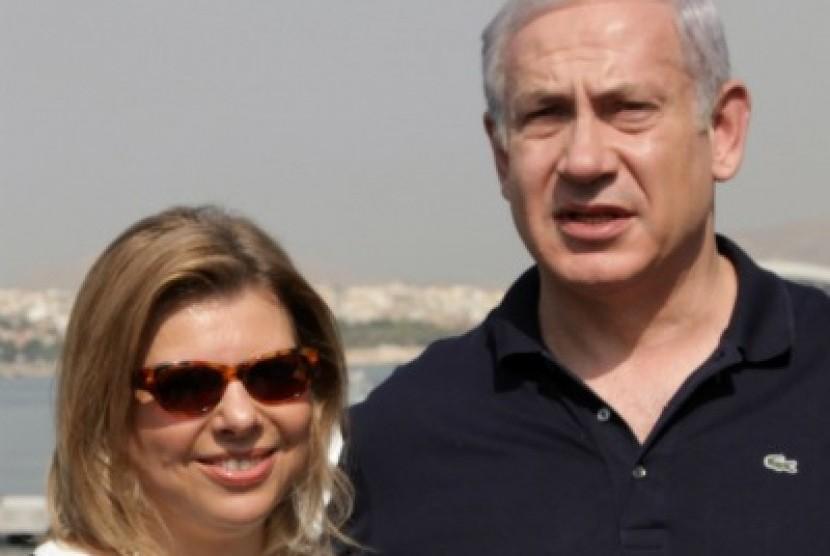 Sarah dan Benjamin Netanyahu