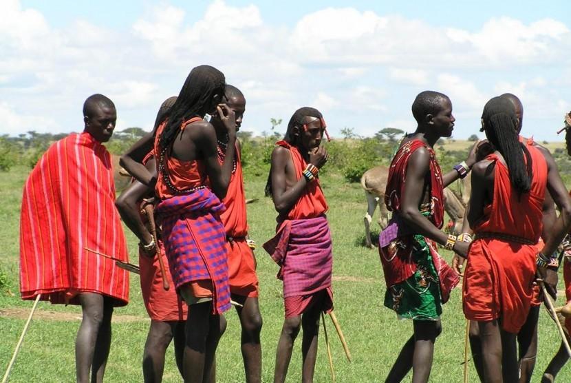 Suku Massai, Afrika