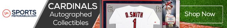 Shop for Authentic Autographed Cardinals Collectibles at SportsMemorabilia.com