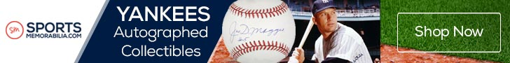 Shop for Authentic Autographed New York Yankees Collectibles at SportsMemorabilia.com