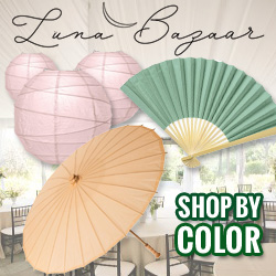 Shop for wedding décor by color at Luna Bazaar