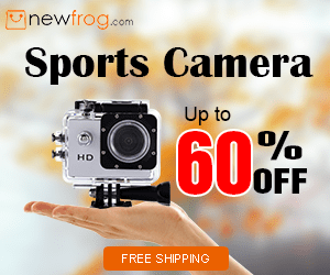 Sports Camera - Up to 60% off@Newfrog.com