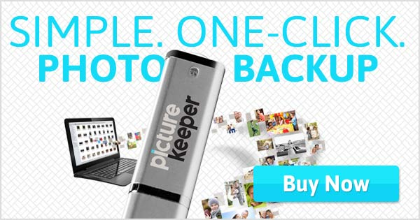 Picture Keeper, Photo Backup in One Click!