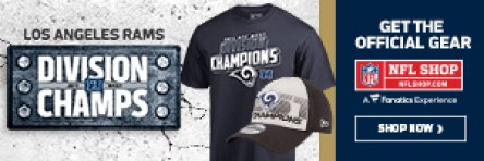 Shop for LA Rams Division Champs Gear at NFLShop.com