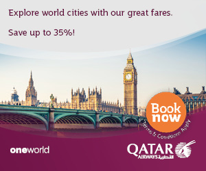 Qatar airways, holidays, travel, offers, deals