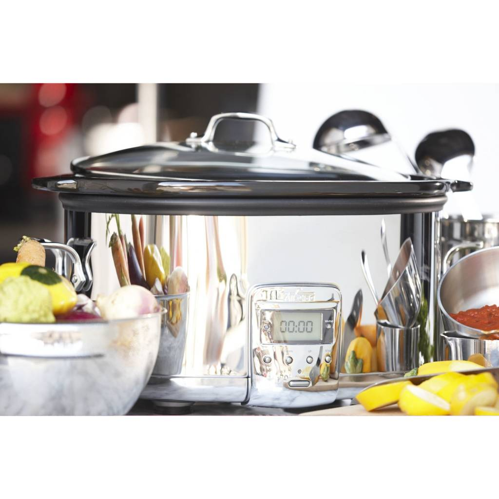 Smothery This Fully All Clad Slow Cooker Aluminum Insert Problems All Clad Slow Cooker Recipes Ken Stainless Steel Slow All Clad Come Home To Dinner Ready Waiting houzz-03 All Clad Slow Cooker