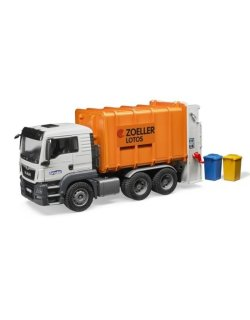 Small Of Bruder Garbage Truck