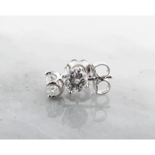 Medium Crop Of White Gold Earrings