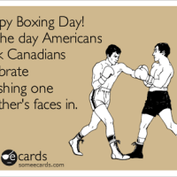 Happy Smash A Canadian's Face In Day!