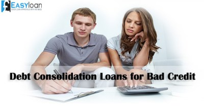 How Debt Consolidation Loans Steady Finances of Bad Credit People