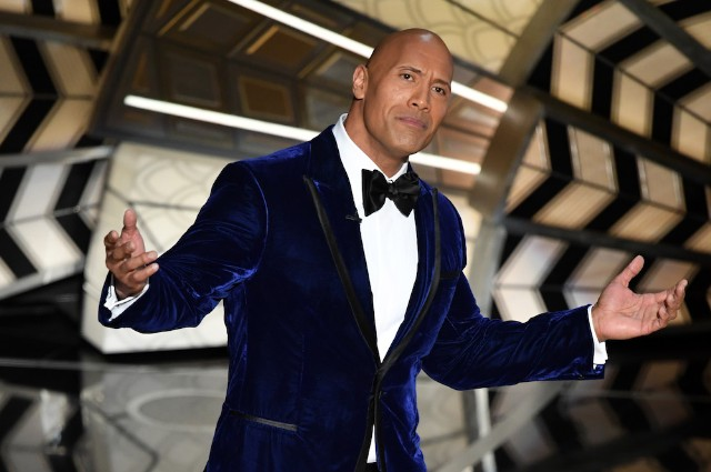 But Seriously  The Rock Should Not Run for President   SPIN 89th Annual Academy Awards   Show