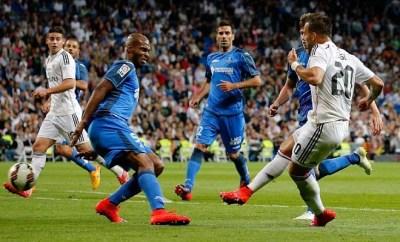 La Liga: Real Madrid vs Getafe CF