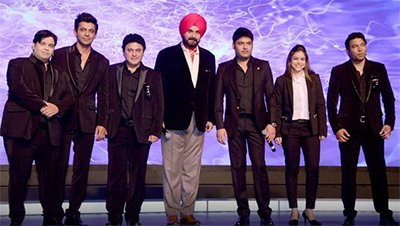 the kapil sharma show team