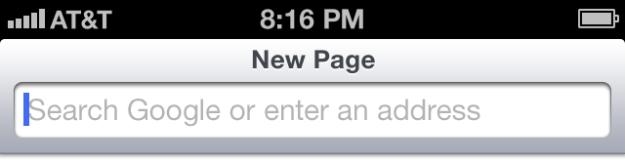 Safari iOS 7 unica la barra indirizzi e di ricerca