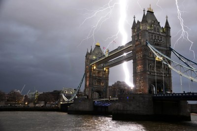 London weather: Flood warnings issued as 'month's worth of rain' set to fall in two days ...