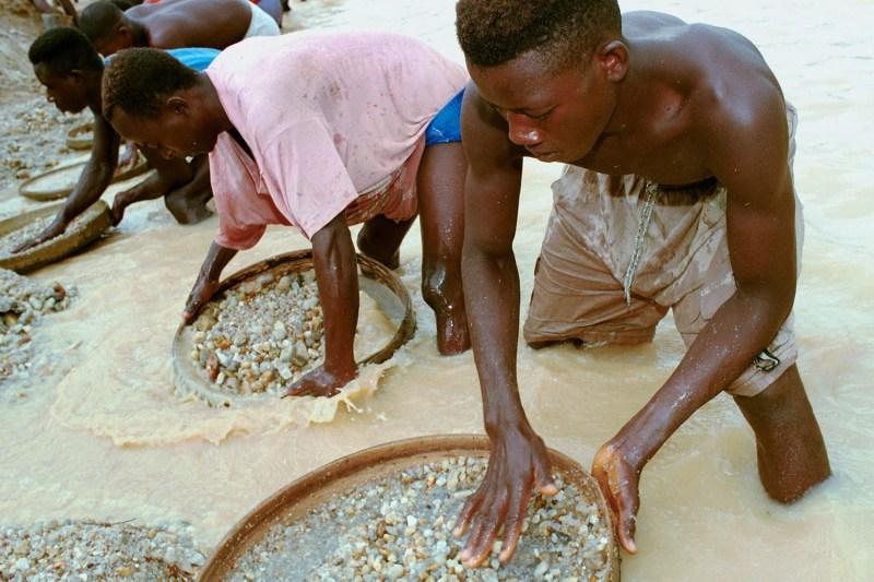 Large Of Sierra Leone Diamonds