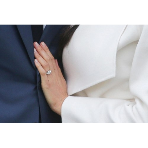 Medium Crop Of Meghan Markle Engagement Ring